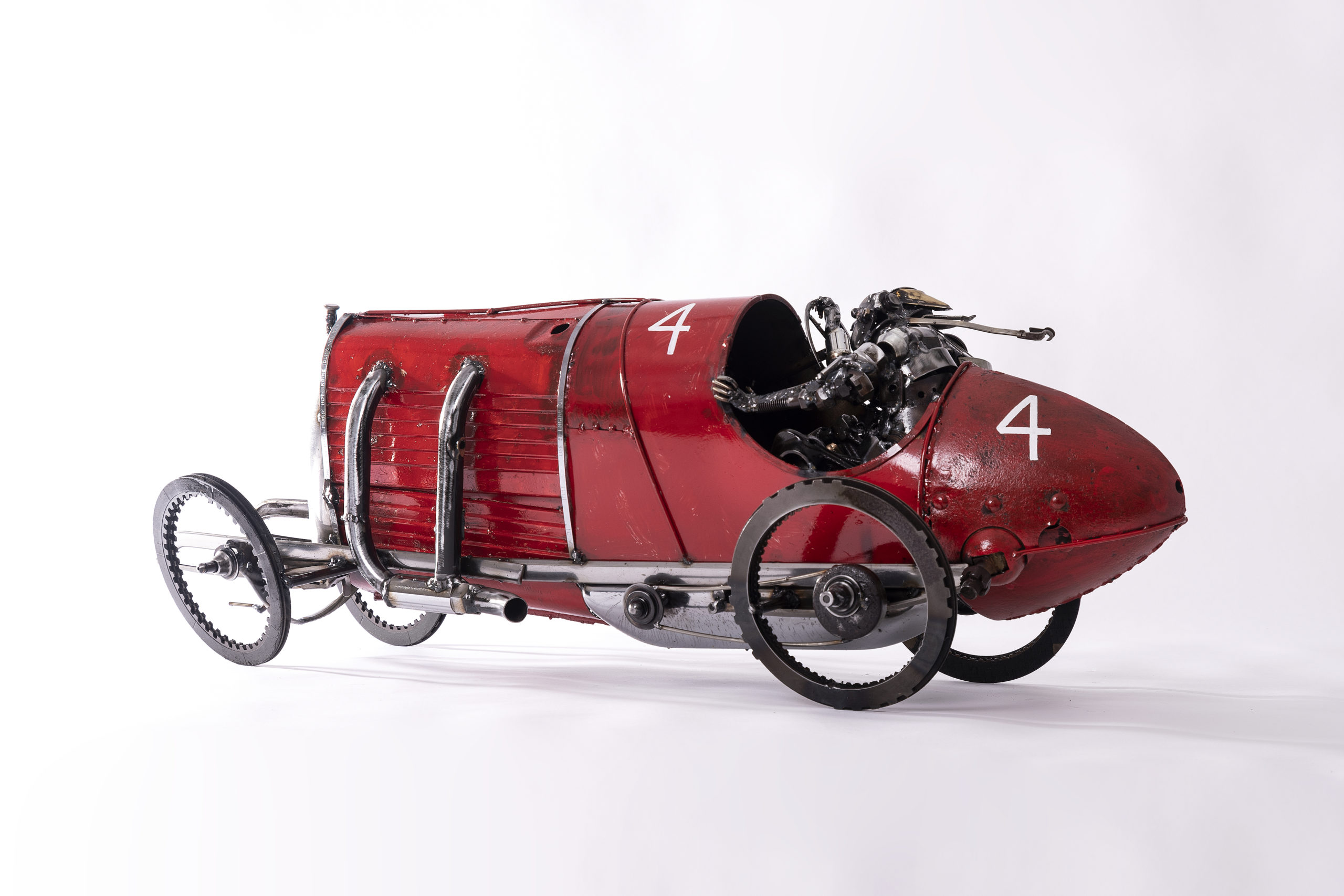 James Corbett Car Parts Sculpture