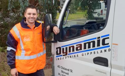 SPOTLIGHT: Dynamic Industries Gippsland, Chris Maliko